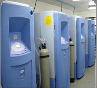 Zentrale CLRW Reinstwassersysteme MEDICA R200 bei DASA, Brasilien