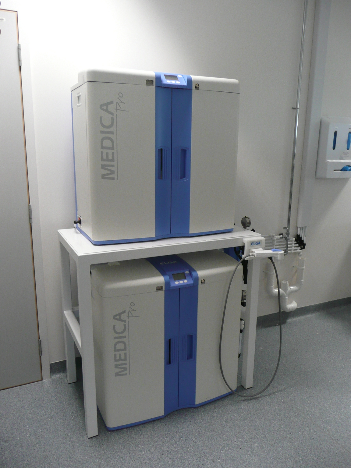 City General Hospital – MEDICA Pro 120 Duplex-Installation