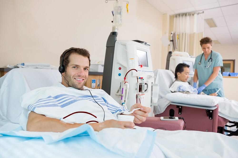 Dialysis Patient Benefits From Ultrapure Water