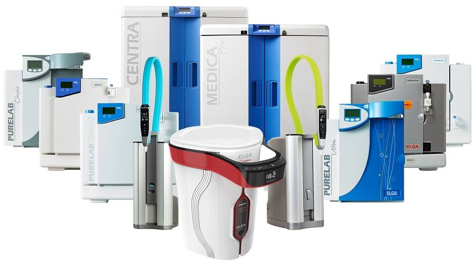 ELGA LabWater Purification Systems PURELAB Range