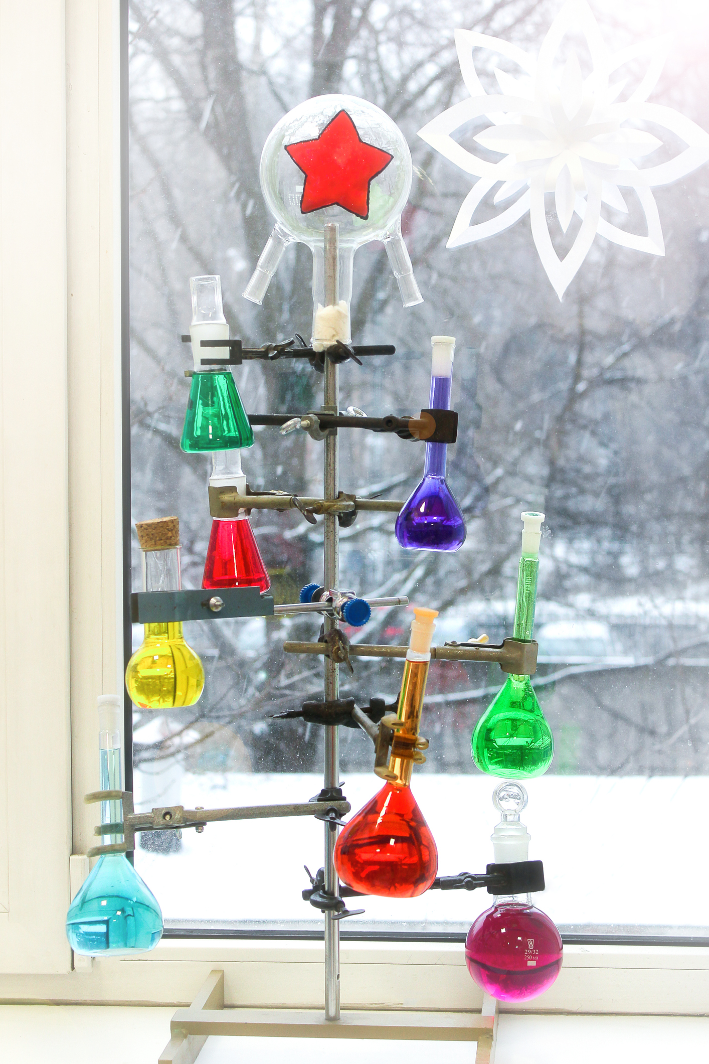 Science Christmas Tree