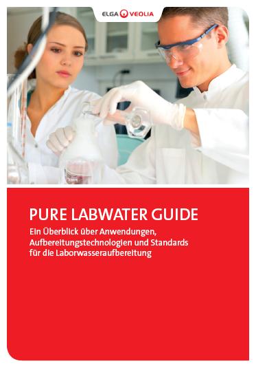 Laborwasserfachbuch Pure LabWater Guide von ELGA Veolia