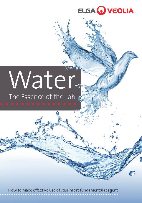 L'essence de l'eau de laboratoire