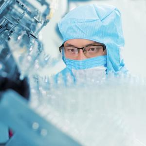 Laboratory Equipment and Scientist working