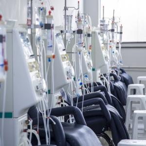hemodialysis room equipment for patients on Dialysis