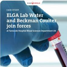 ELGA Lab Water and Beckman Coulter join forces