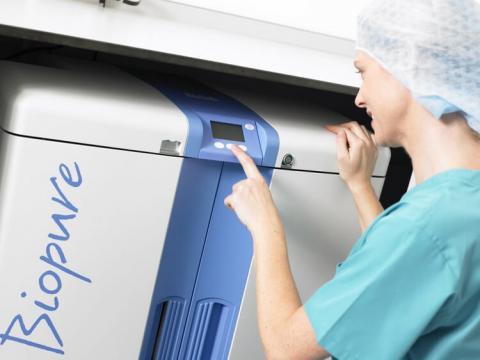 Sistemas de purificación de agua BIOPURE para atención sanitaria