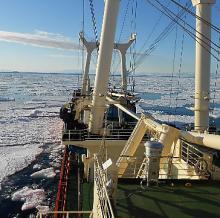 Antarktis-Expedition des CNR-Institut, Universität Venedig, Italien